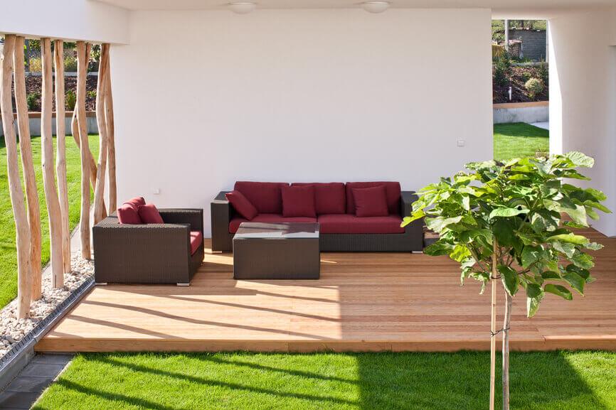 Patio courtyard