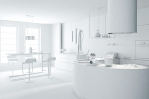 36 beautiful white luxury kitchen designs pictures for Kitchen designs by clay