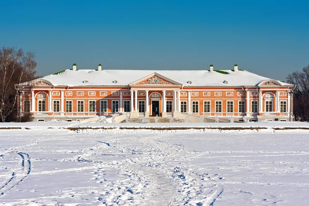 Palace Kuskovo in Moscow
