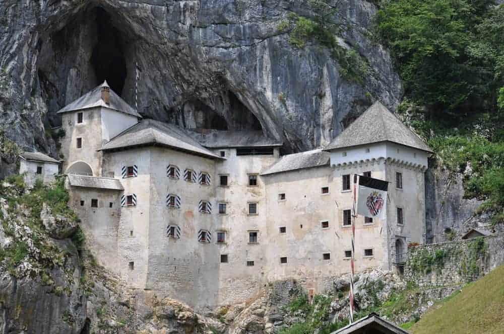Predajama Castle in Slovenia