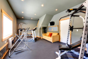 a room in the house dedicated to the home gym - Home Gym Design Ideas