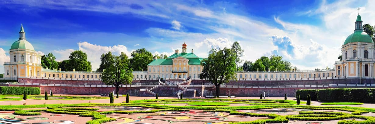 Menshikov Palace in Saint Petersburg