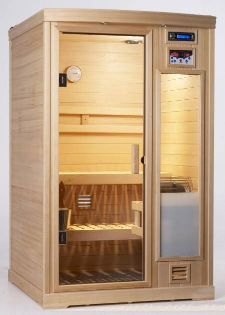 Portable dry heat sauna