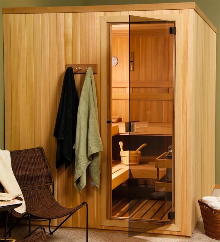Pre-Built-Sauna