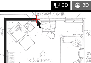 Space Designer 3D Drawing Interface
