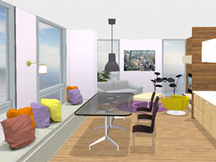 space designer 3d example - 3d Interior Designs