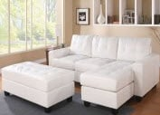 Acme White Sectional