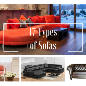 17 Styles of Sofas & Couches Explained with Photos