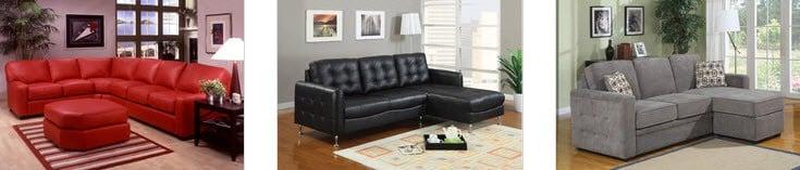 Cushion Back Sectionals