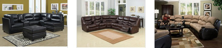 Home Theater Sectionals