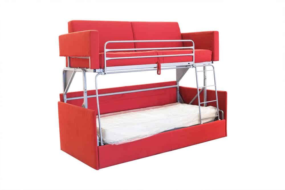 bunk bed sleeper sofa comboa