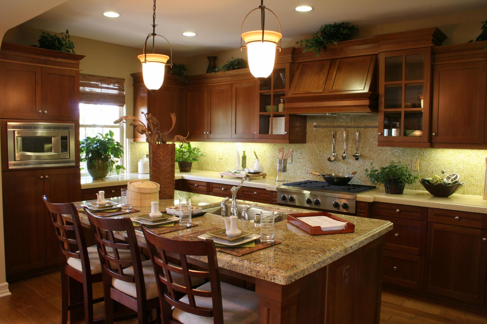 9 Dark Kitchens with Dark Wood OR Black Kitchen Cabinets 9 ...