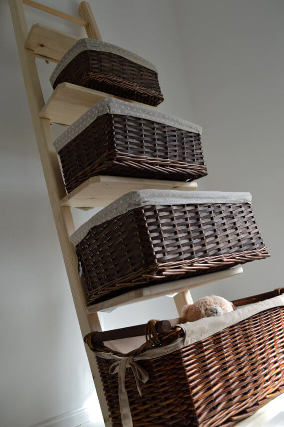 Leaning Ladder Shelf by PobiShop