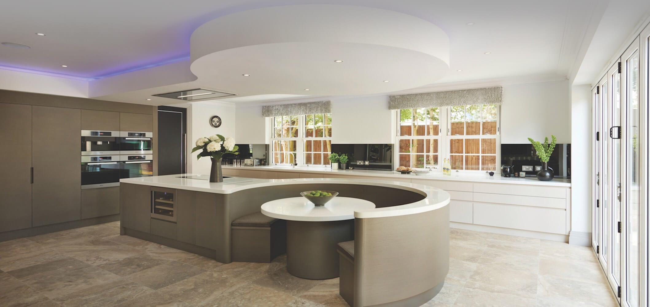 State-of-the-art modern kitchen design