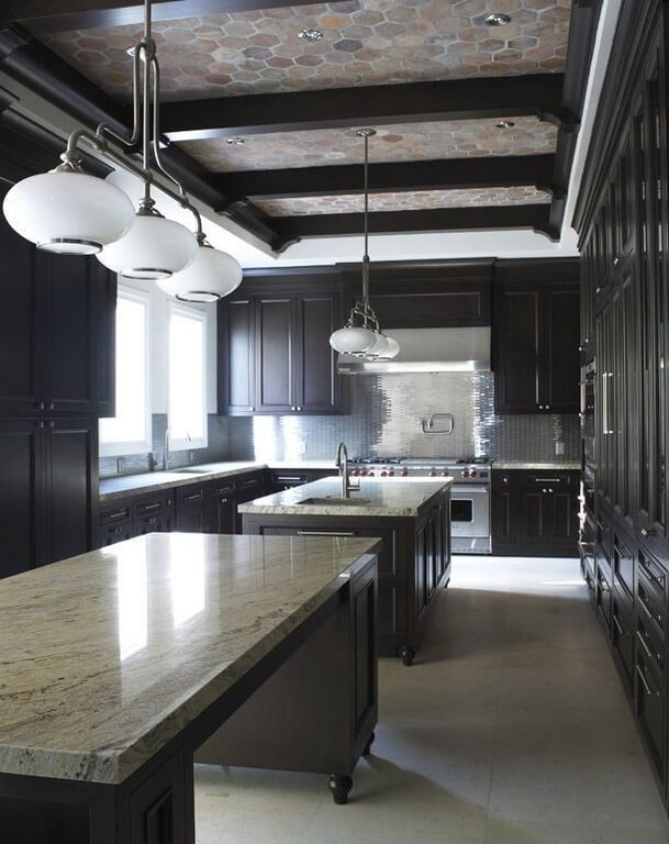 Here is one of the most expensive kitchens in our gallery.