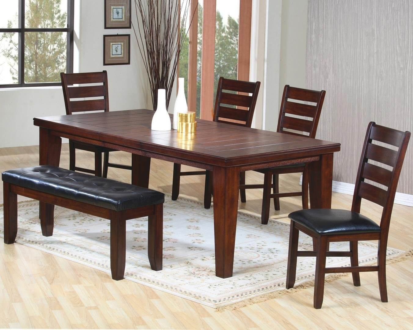 26 Dining Room Sets Big And Small With Bench Seating 2021 Home Stratosphere