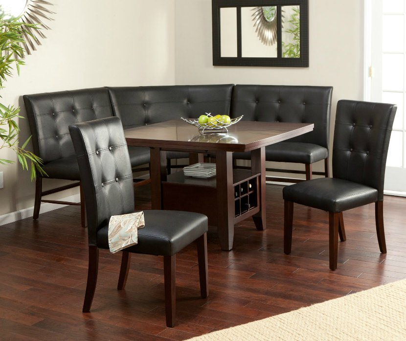Wow! 30 Space-Saving Corner Breakfast Nook Furniture Sets (2018)