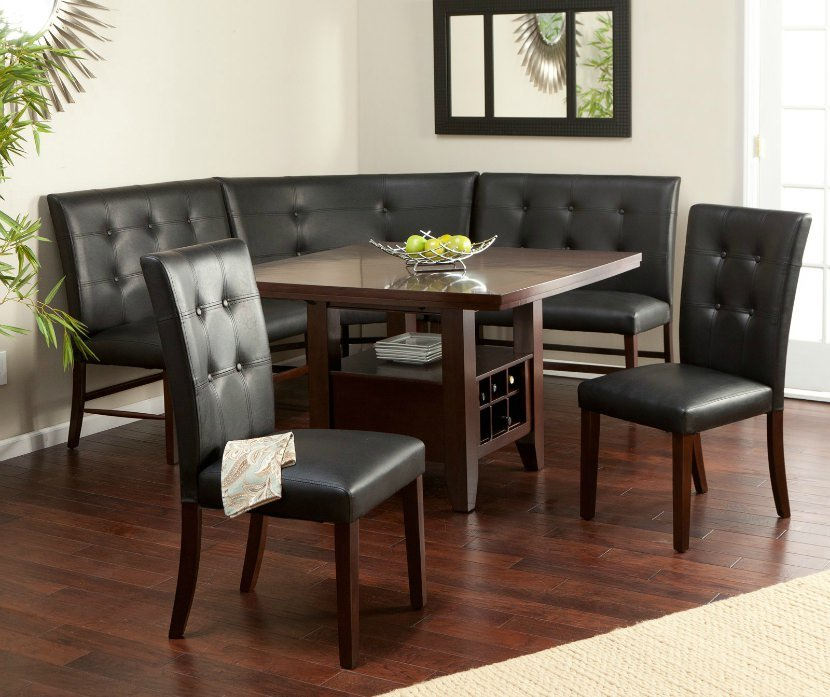 Space Saving Corner Breakfast Nook Furniture Sets