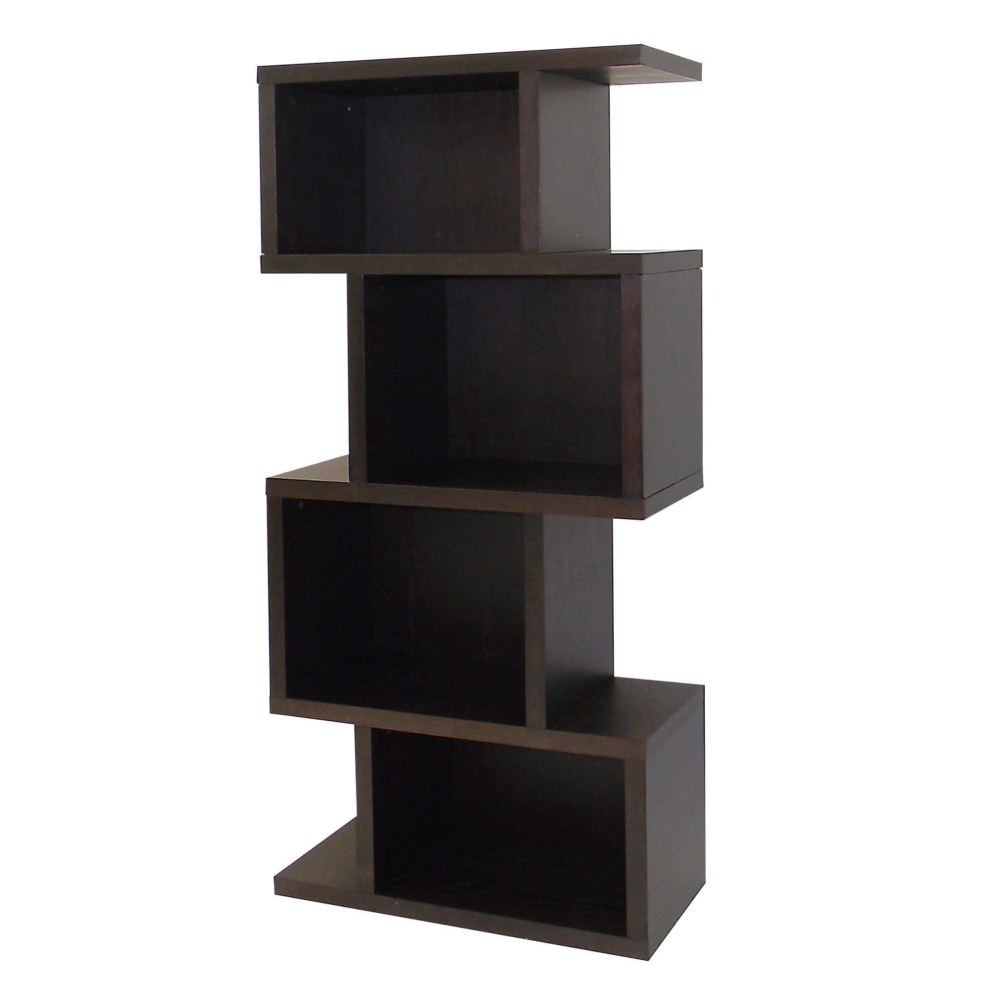 This dark birch finished 4 cube shelf is perfect for any small space that will offer additional storage as well as look great.