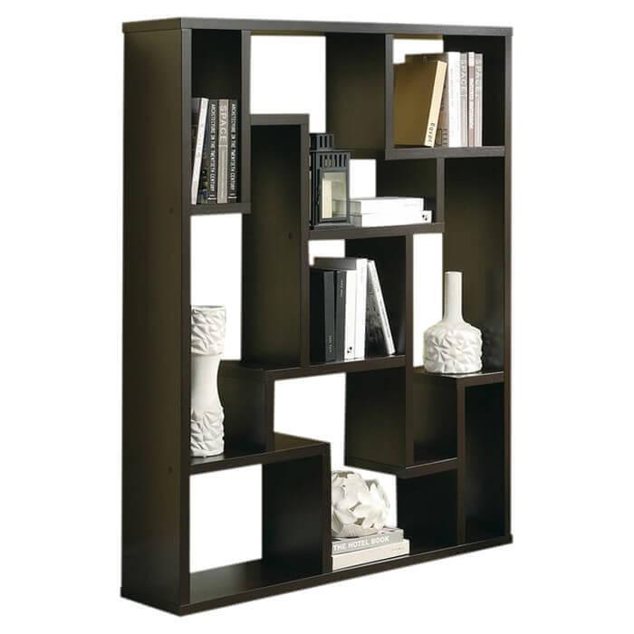 4way 9 cube bookshelf
