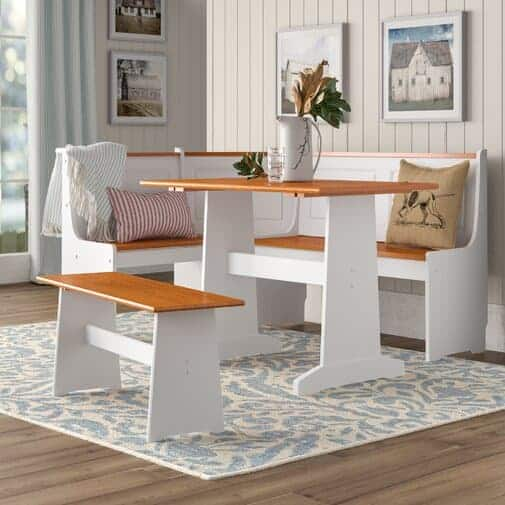 Birtie 3 piece breakfast dining nook