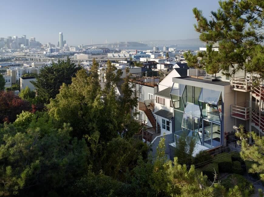 Modern urban home in San Francisco