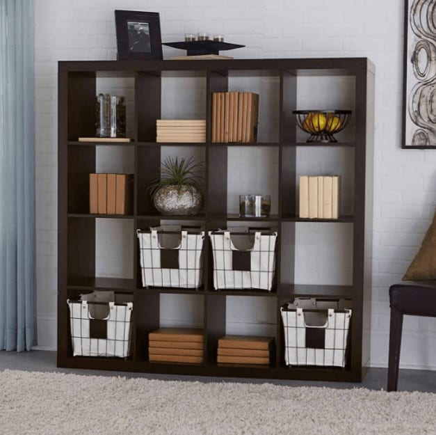Photo of cube bookcase