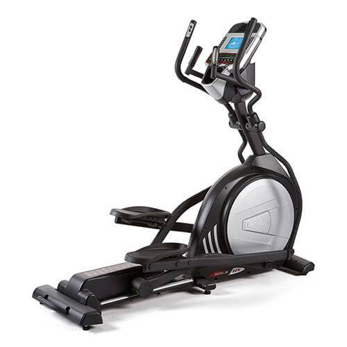 The Sole E25 is a front-drive elliptical. While it's a lower end model from Sole, it's important to know that Sole equipment is known for building solid, sturdy workout machines.
