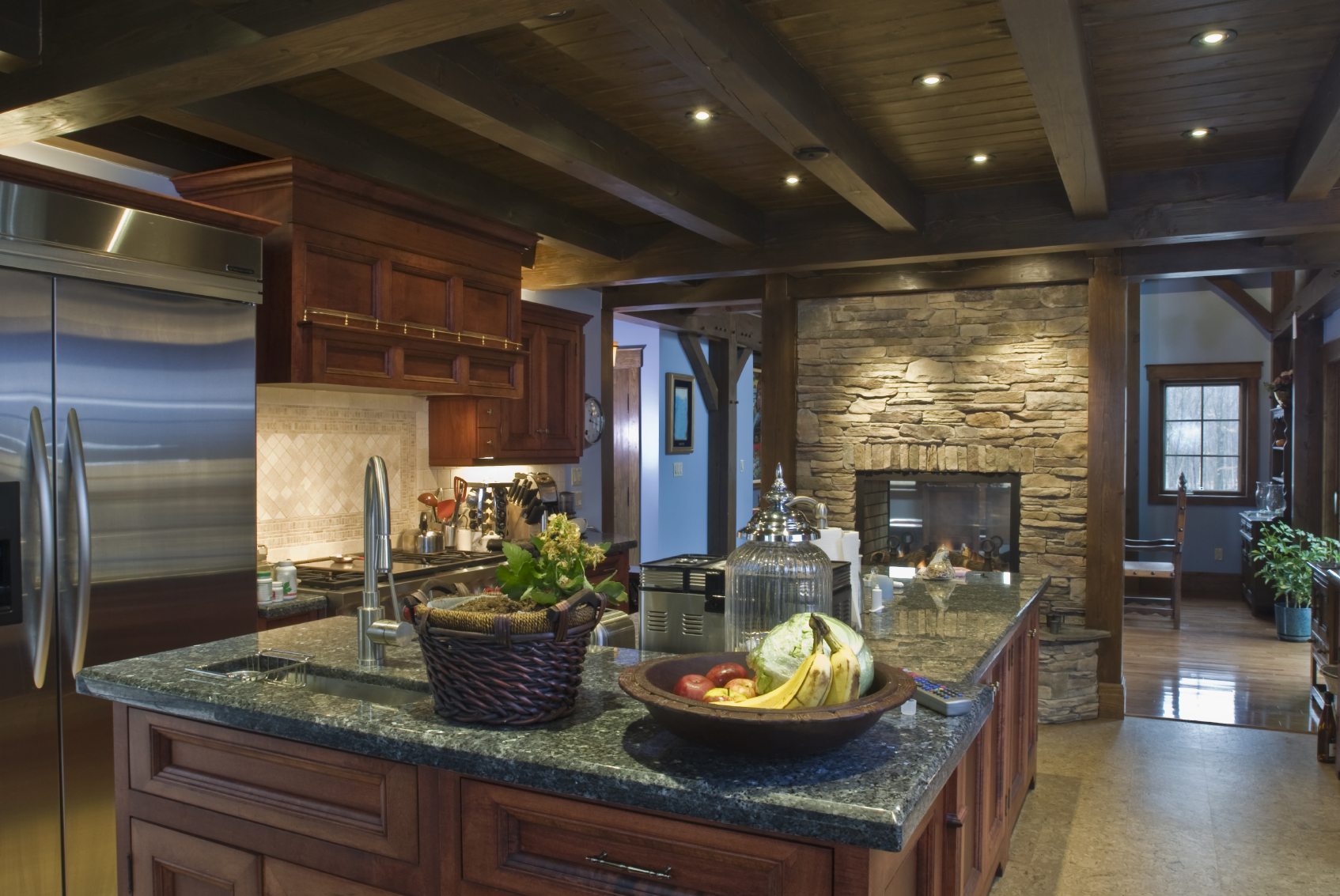 52 Dark Kitchens With Wood Or Black Kitchen Cabinets 2021 Home Stratosphere