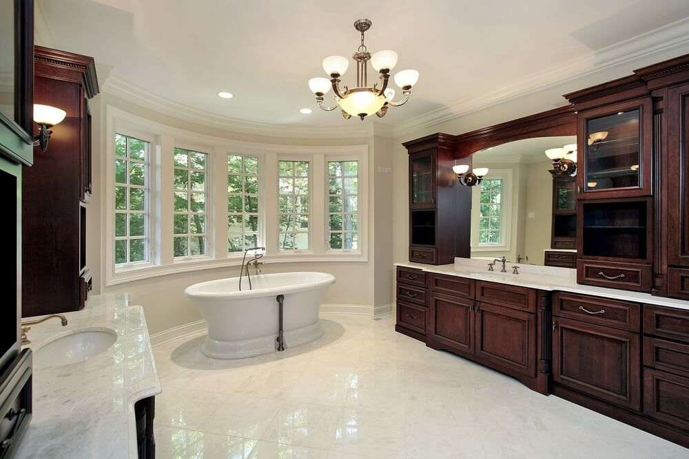 52 Primary Bathroom Designs With Beautiful Woodwork Home Stratosphere