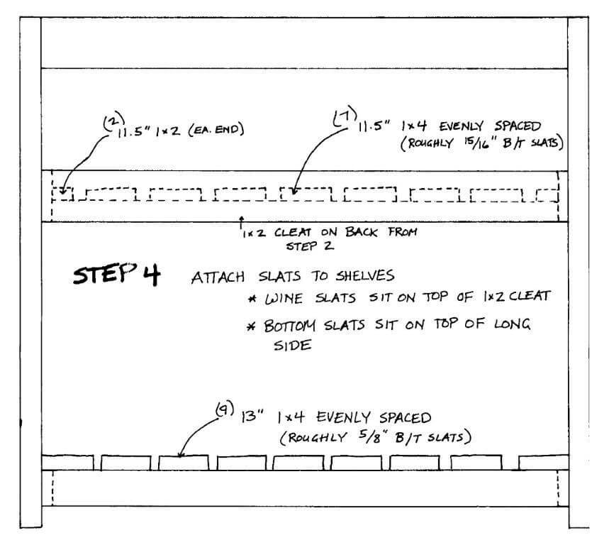 Install Shelf Slats