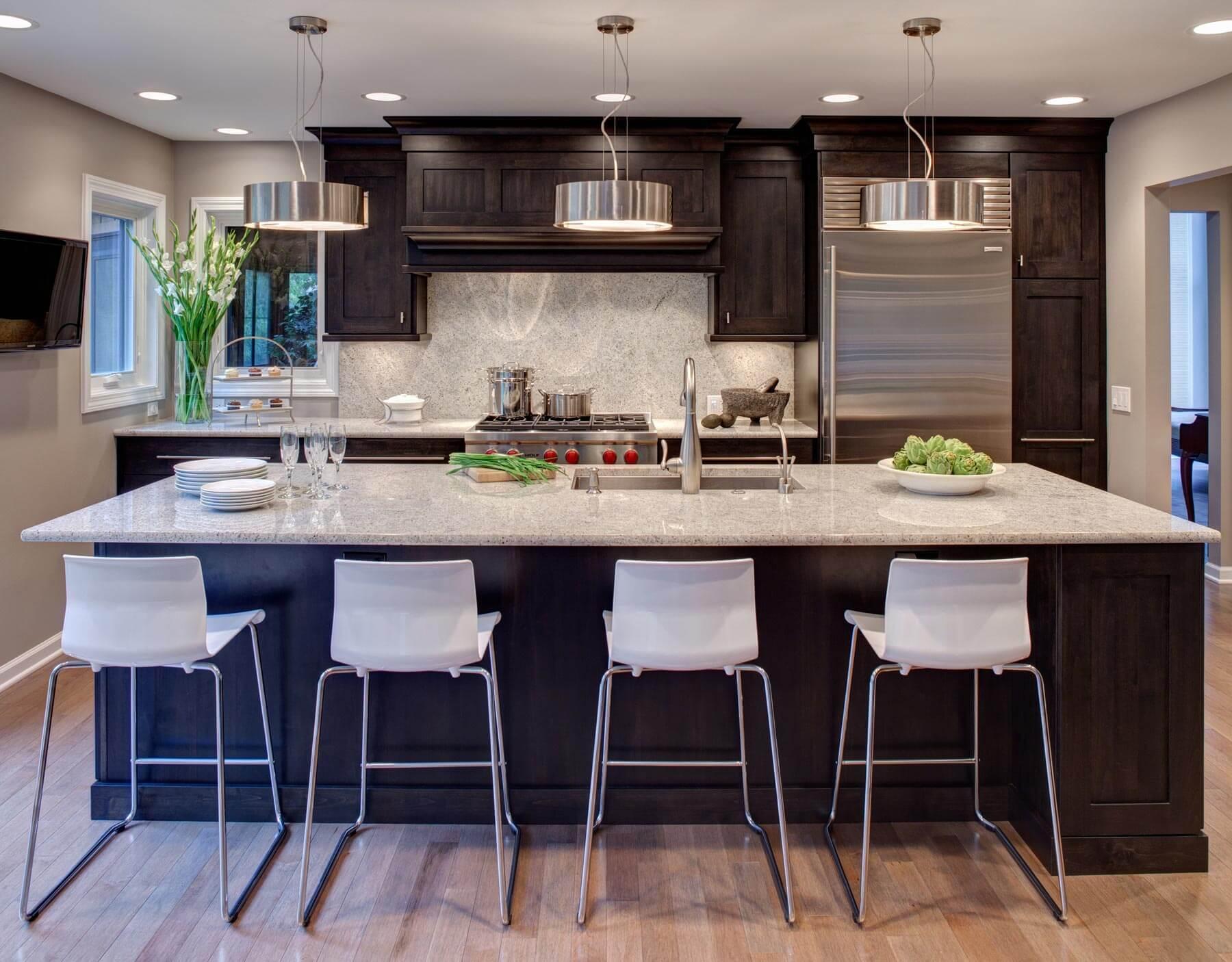 Zen-Like Naperville Kitchen by Drury Design
