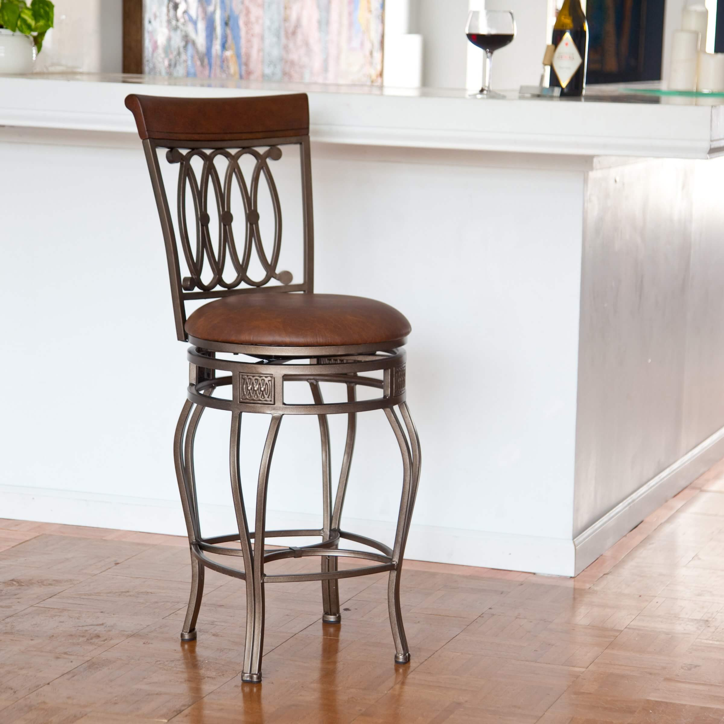 Example of standard counter height stool.