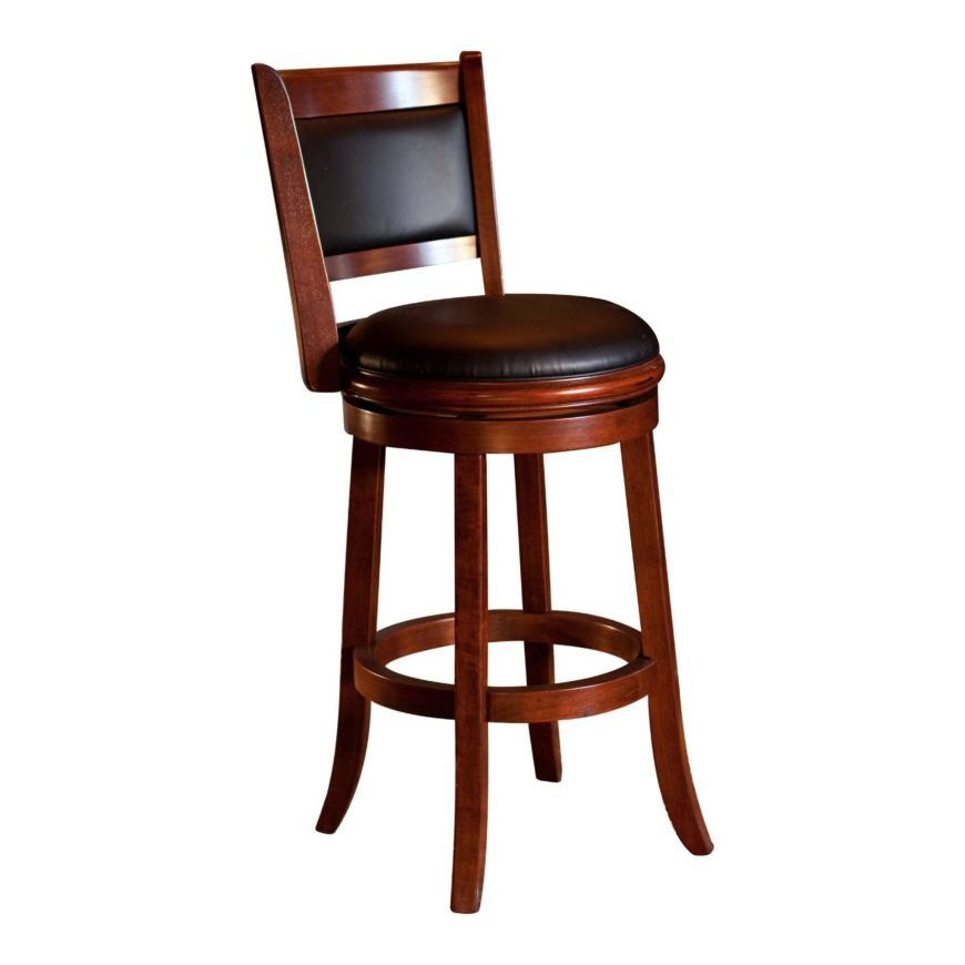 Example of a bar height stool.
