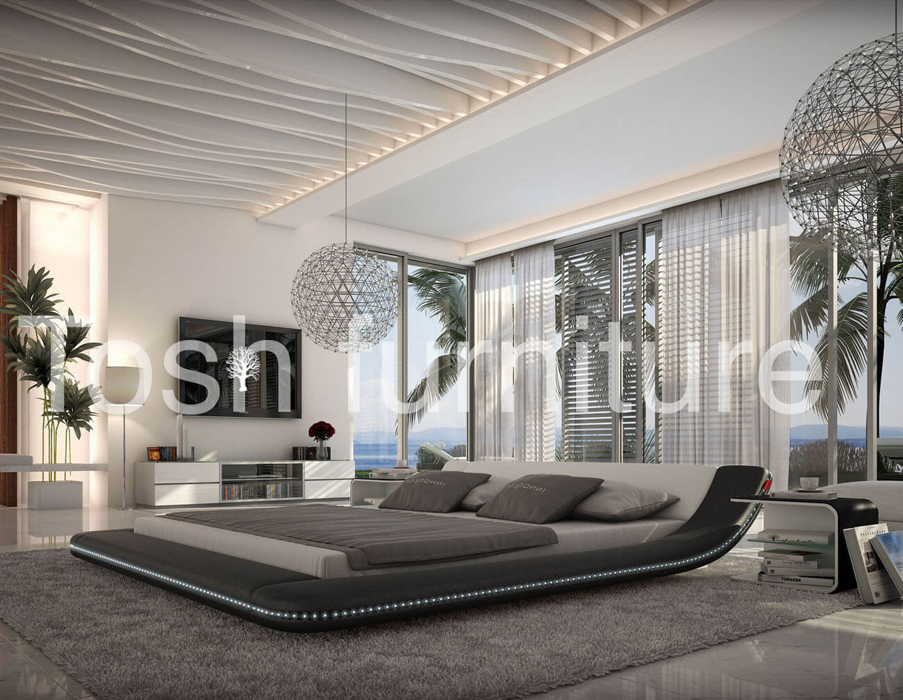 With modern style, there can be a lot of crossover with contemporary beds. The idea is that a piece of modern furniture has an up to date design, and is most definitely not traditional or old fashioned.