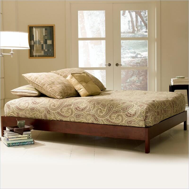 Also known as a single bed, the twin is generally made to accommodate one child or one adult sleeper.