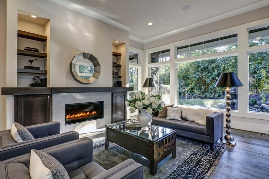 41 Living Rooms with Hardwood Floors (Pictures)