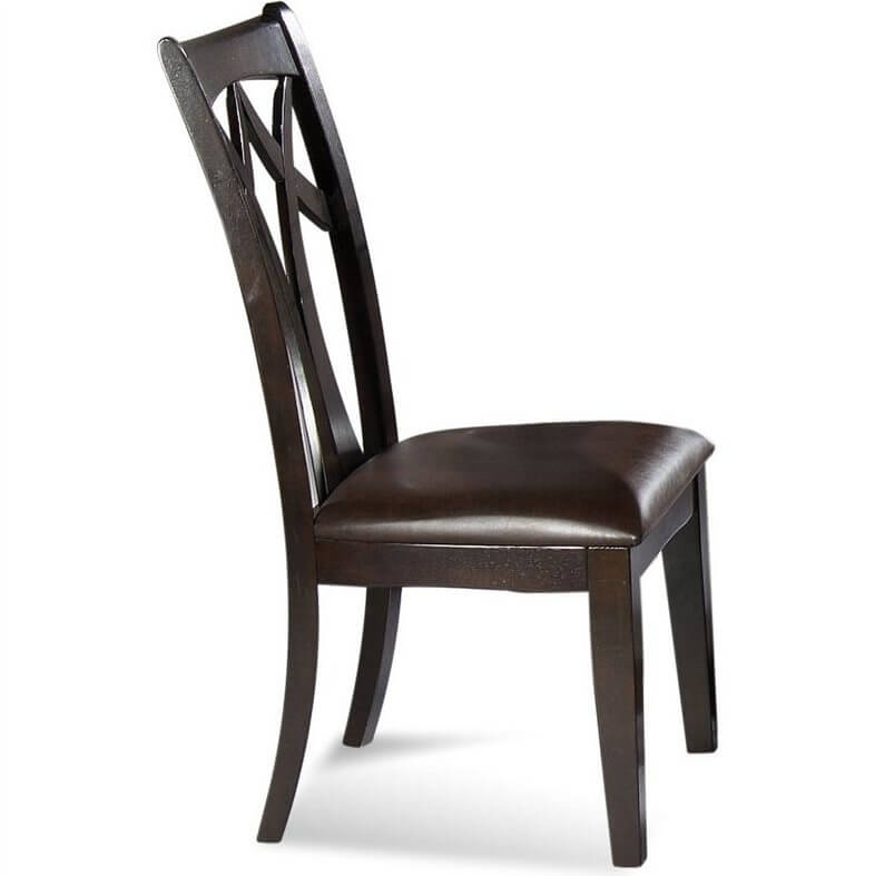 Leather seat dining chairs are incredibly popular for good reason: they offer the comfort of a typical upholstered chair, with the rich sheen and luxurious quality that only leather can imbue.