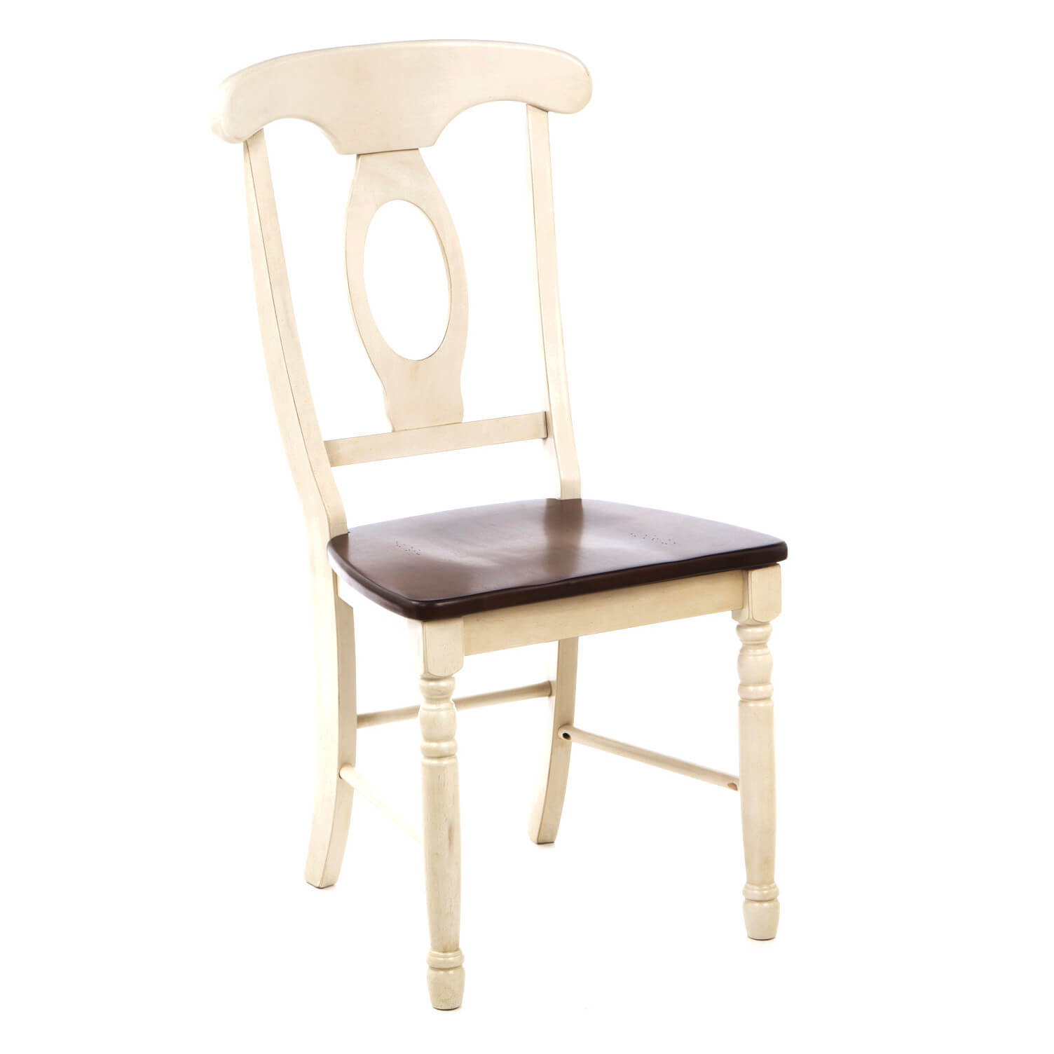 Wood frame chairs often come unadorned with upholstery. Instead, they may sport a molded wood seat, for a more direct, minimal look, while still offering comfort and style.