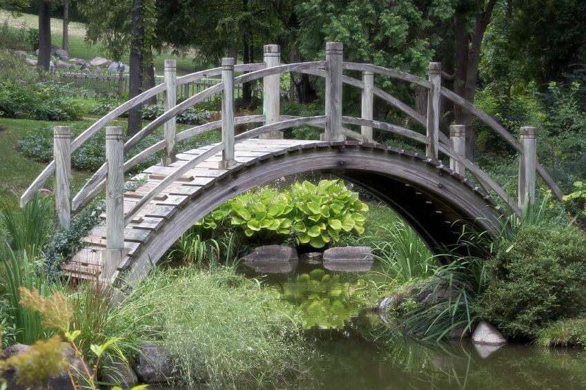 49 Backyard Garden Bridge Ideas And, Garden Bridges Plans