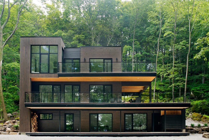 This head-on view allows for contemplation of the entire tiered structure, recognizing the way it slopes to mirror the surrounding environment.