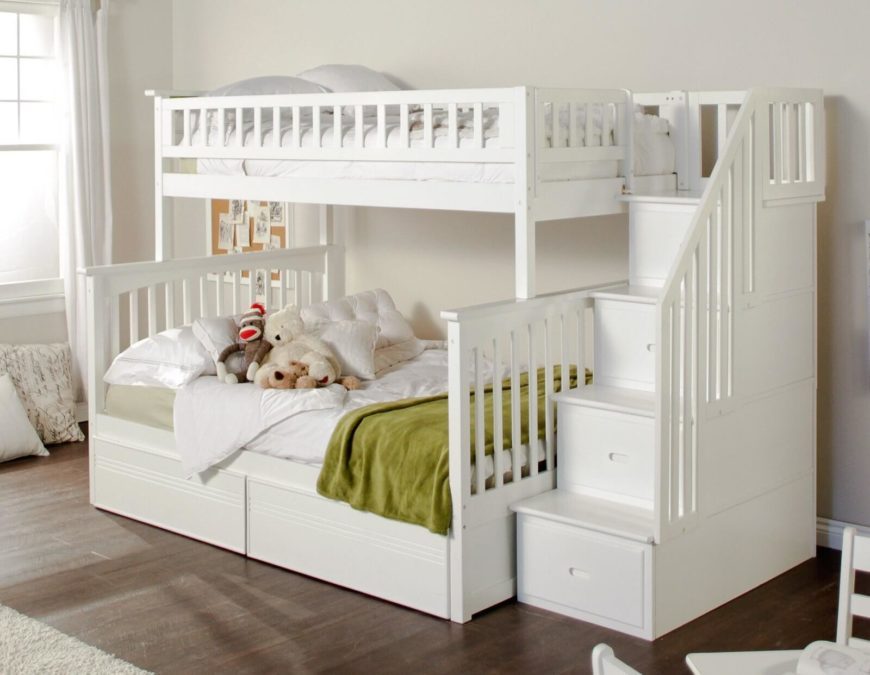 24 Designs Of Bunk Beds With Steps Kids Love These Home Stratosphere