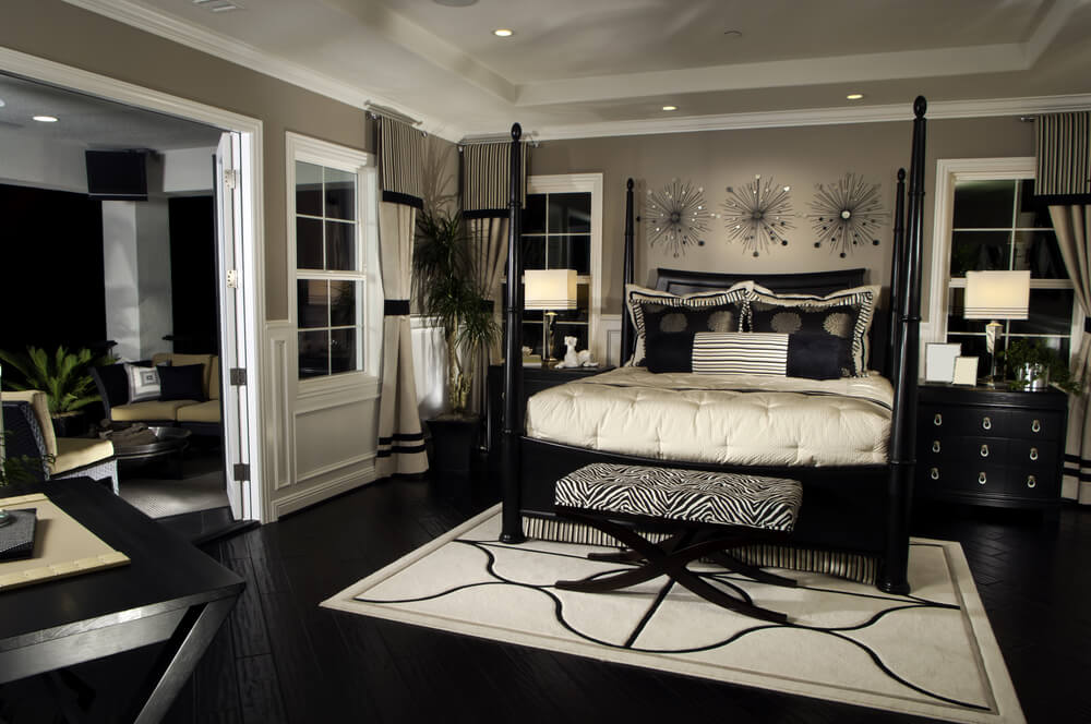 19 Jaw Dropping Bedrooms With Dark Furniture Designs Home Stratosphere