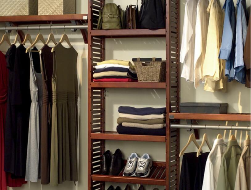 Closet storage organizer system