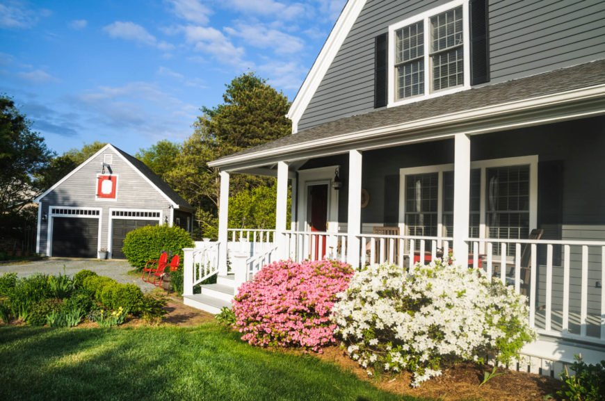 Since its introduction in the 1960's, vinyl siding is the number one most used siding because of its cost, versatility, and low maintenance. Lap siding isn't the only style for vinyl - though it is the most common. You can also get it in many of the styles that we display further in the post; including vertical panels, shakes, shingles, fish scales, lap, and beaded designs. It also comes in over 300 different colors.