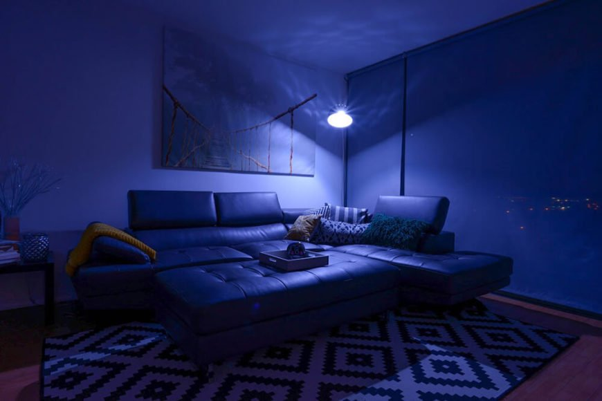 Even the smallest alteration in color can change the feel of a room, and you get to maintain control when you use the SmartFx bulb in your living room.