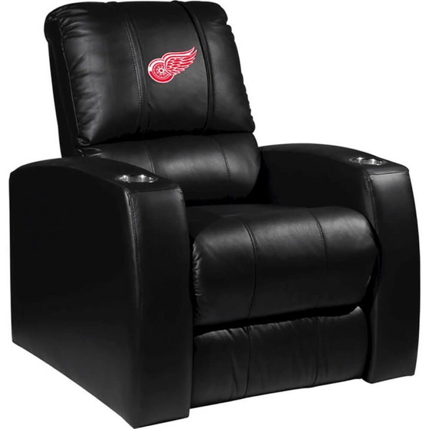 Sports fans would do well to check out the vast array of team-emblazoned options available. We've chosen our favorite NHL team, the Detroit Red Wings, for our example, but rest assured that there's bound to be a chair with your favorite team on it. The sleek construction and thick cushioning ensure comfort, while the stitched-on logo lets everyone know where your loyalty rests.