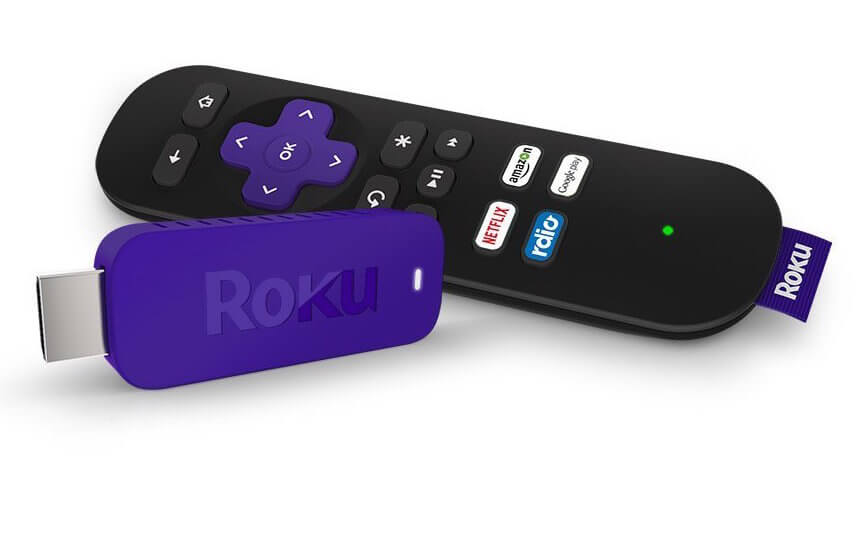 Roku devices come in several sizes, and this is the smallest and most convenient: a thumb-sized stick that plugs directly in to your TV, controllable by included remote. Roku offers over 2,000 entertainment channels and is the most popular streaming device around. The device can also be controlled via free app on your Android or Apple smartphone or tablet. The best part is how small it is; you can leave it plugged into your TV and forget about it, with zero clutter.