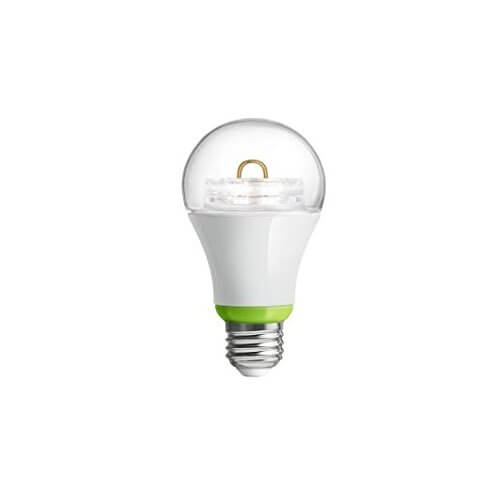 The deceptively simple Link is designed to work with the Wink hub, which we'll detail below. The important takeaway is that this light will give off 800 lumens and run less than $1.50 per year in electricity costs. With a Wink hub in place, it can be controlled from virtually anywhere.