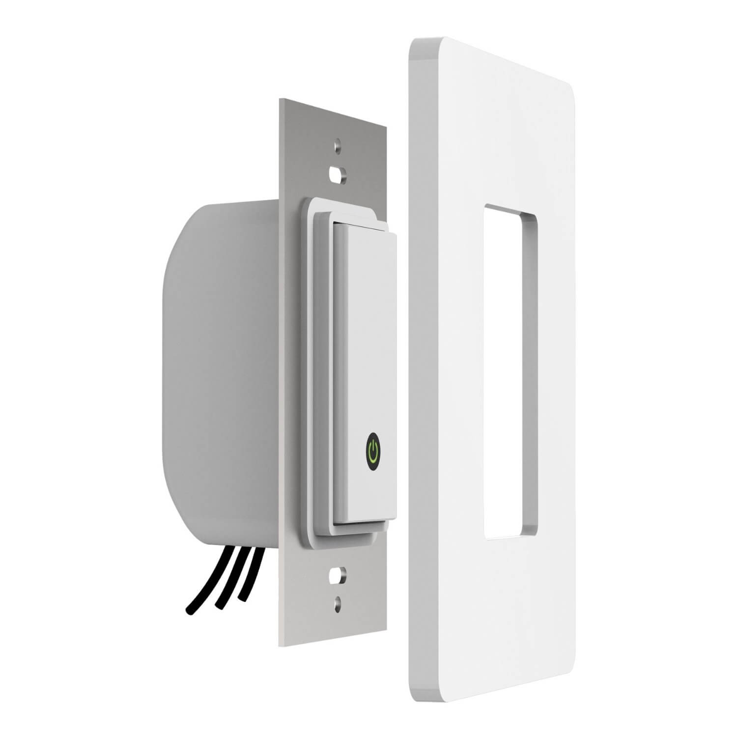 This smart outlet lets you turn electronics on or off from anywhere. It's designed to work intuitively, meshing with your existing Wi-Fi router and any wireless Apple device, allowing control over any one-way connection lights as well as other electronics that normally need hands-on power.